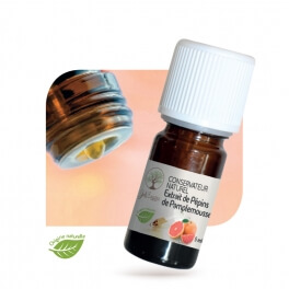Conservateur naturel Extrait de Pépins de Pamplemousse - 5 ml