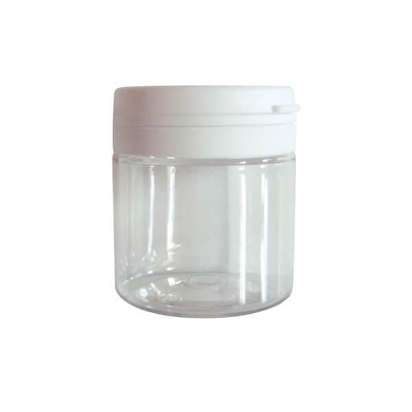 Pot Mont blanc en plastique - 50 ml