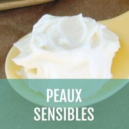 Crème visage Peaux sensibles à personnaliser