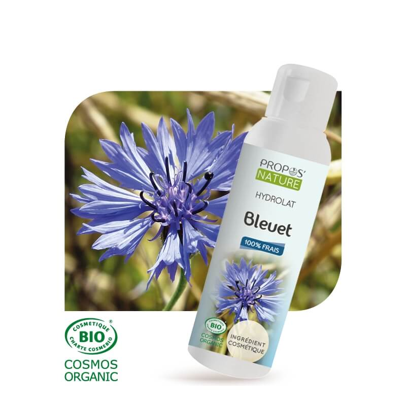 hydrolat de bleuet bio centaurea cyanus 100 ml. Black Bedroom Furniture Sets. Home Design Ideas