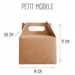Joli'Box cadeau en Kraft petit modèle