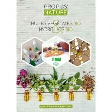 Guide de nos Huiles végétales et Hydrolats