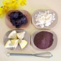 Fondant au Chocolat en exfoliant Minceur - Cacao & Zeste de Citron