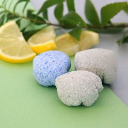 Galets effervescents WC - Menthe Citronnée