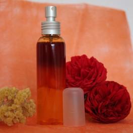 Soin contre les rougeurs à l'Hélichryse, Calophylle & Rose musquée