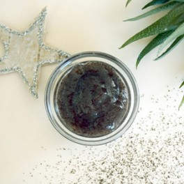 Scrub visage et corps - Vanille, Raisin & Macadamia