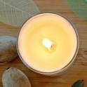 Bougie d'Ambiance - Cire d'Abeille & Géranium