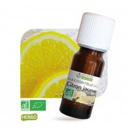 Citron BIO (AB) - Huile essentielle 10 ml