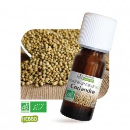 Coriandre BIO (AB) - Huile essentielle 10 ml
