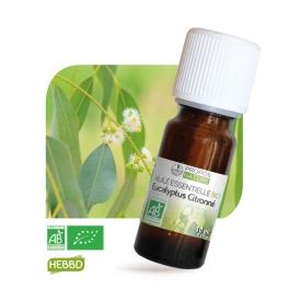 Eucalyptus citronné BIO (AB) - Huile essentielle 10 ml