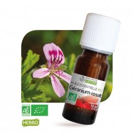 Géranium Rosat BIO (AB) - Huile essentielle 10 ml