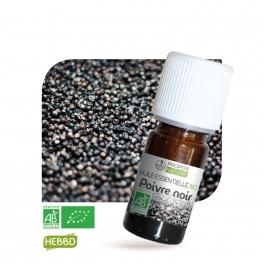 Poivre Noir BIO (AB) - Huile essentielle 5 ml