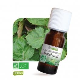 Patchouli BIO (AB) - Huile essentielle 10 ml