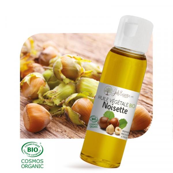 Noisette BIO - Huile végétale vierge (30ml / 100ml / 500ml)