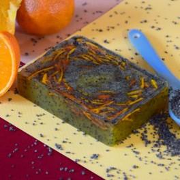 Savon tonifiant Mandarine et Pavot