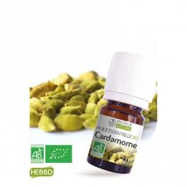 Cardamome BIO (AB) - Huile essentielle (2.5 ml / 5 ml)