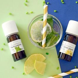 huile essentielle menthe et citron
