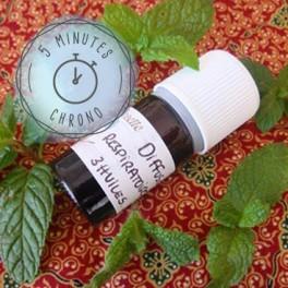 Diffusion Respiratoire aux 3 huiles essentielles