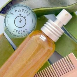Brume capillaire vitalité - Aloe, Ricin & Pamplemousse