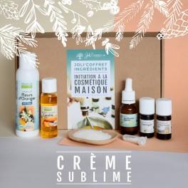 coffret d'ingrédient crème sublime