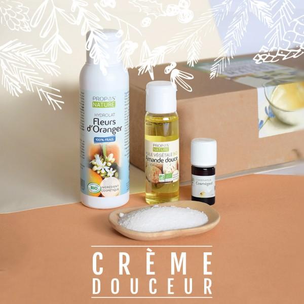 Coffret ingrédients Crème douceur