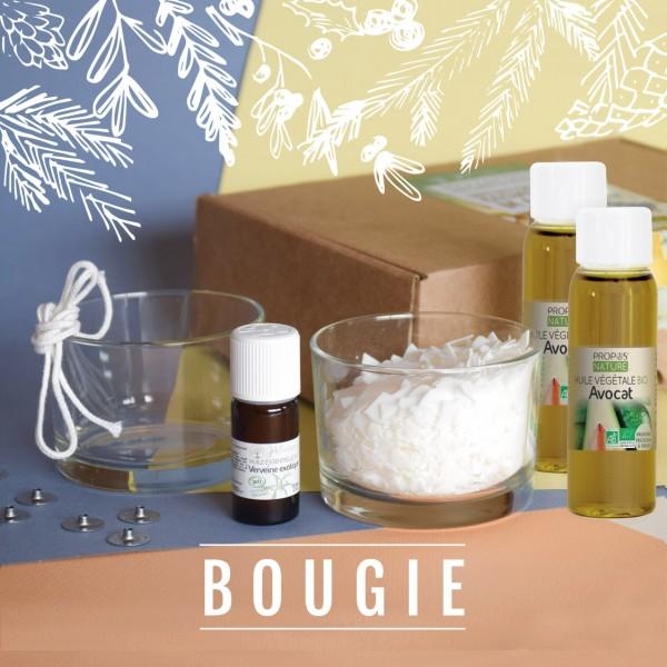 Coffret ingrédients Bougie