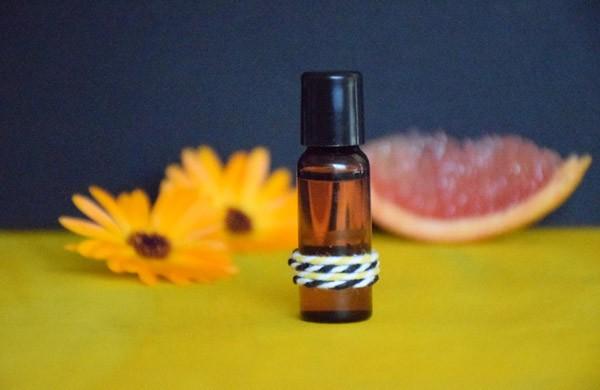 Parfum huileux Soleil sucré