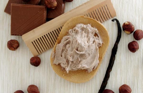 recette Masque capillaire au Karité, Vanille et Noisette
