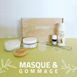 cosmétique maison masque et gommage