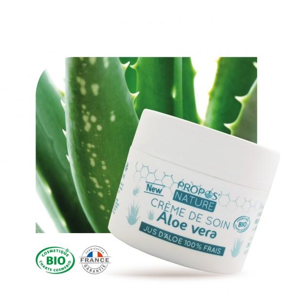 Crème aloe vera bio