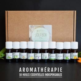 ★ Joli'Coffret Aromathérapie - 10 huiles essentielles indispensables