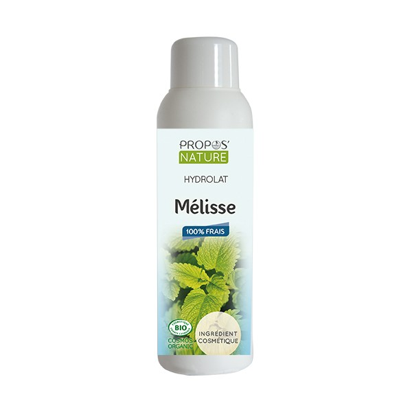 hydrolat melisse bio