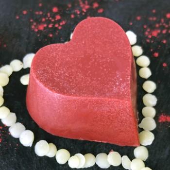 Barre de massage solide Rouge d'amour