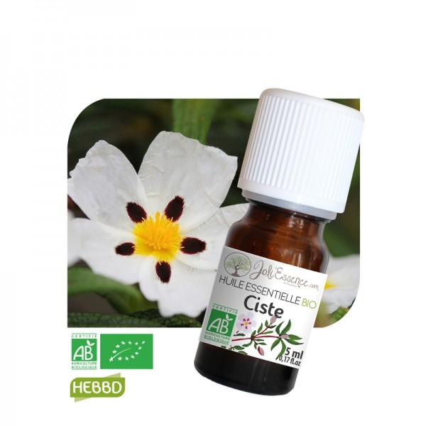huile essentielle ciste bio