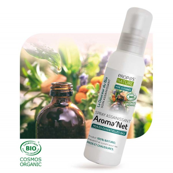 Spray assainissant Aroma'Net BIO - 100 ml