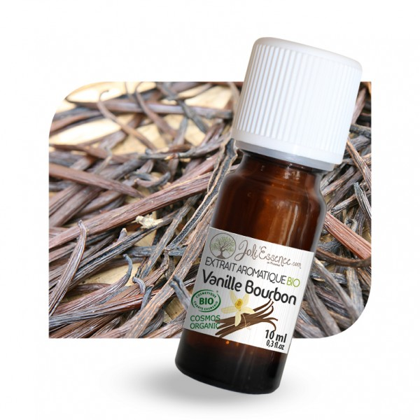 Vanille Bourbon - Extrait aromatique naturel BIO (10 ml / 50 ml)