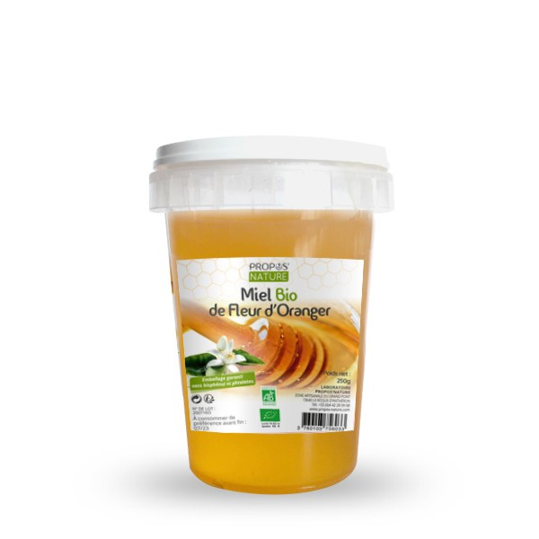 Miel de Fleurs d'Oranger BIO (250g / 500g)