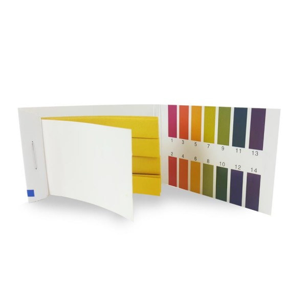 Bandelettes de papier pH (1 à 14)