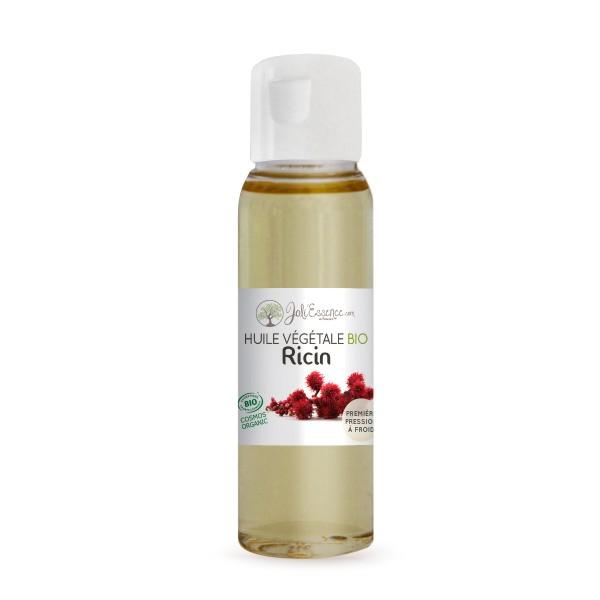 huile végétale bio de ricin