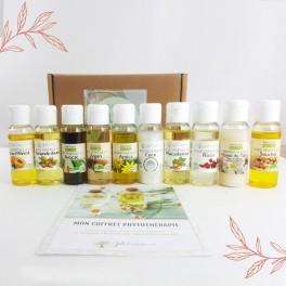 10 huiles végétales indispensables - Coffret Phytothérapie