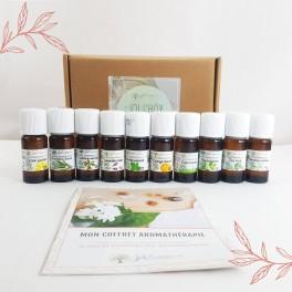 10 huiles essentielles indispensables - Coffret Aromathérapie