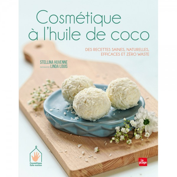livre cosmétique à l'huile de coco