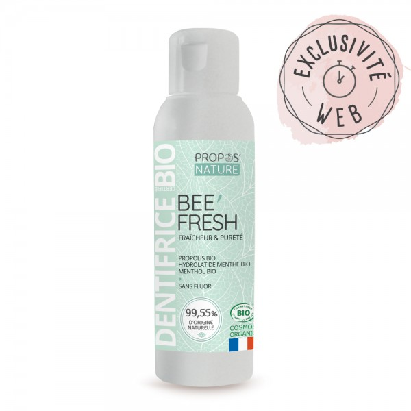 Dentifrice BEE'FRESH BIO