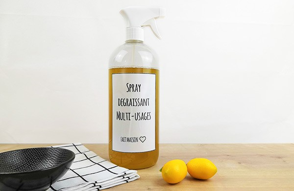 Spray dégraissant multi-usages