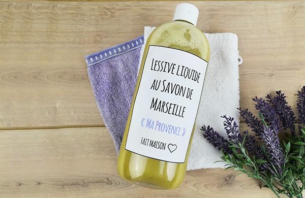 "Lessive liquide au savon de Marseille - ""Ma Provence"""