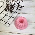 Moule à savon en silicone - Donut vue haut