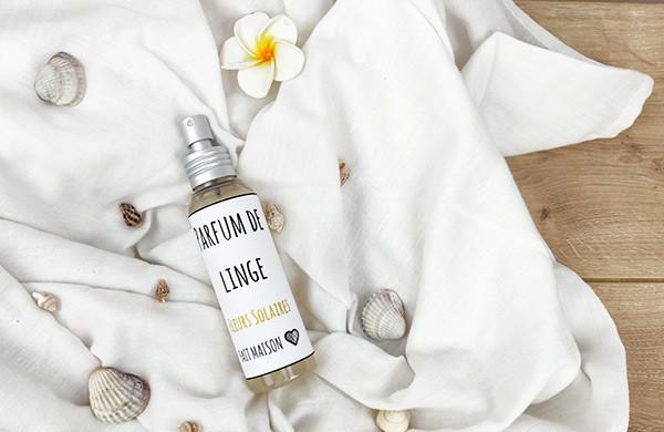 Parfum de linge - Fleurs solaires