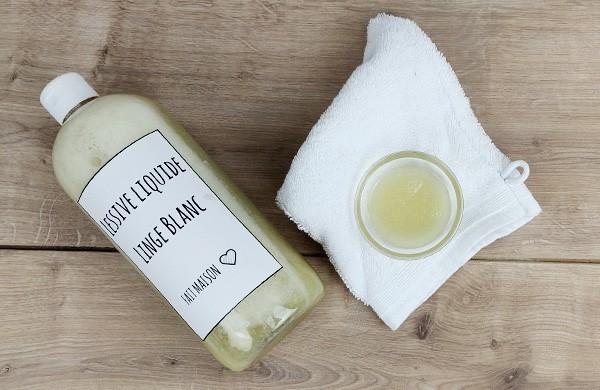 Lessive liquide Linge blanc