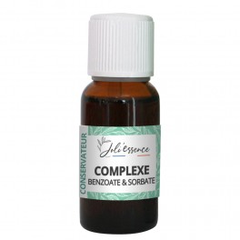 Conservateur Complexe Benzoate & Sorbate- 20 ml