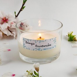 Bougie Printanière - Jasmin & Fleurs solaires